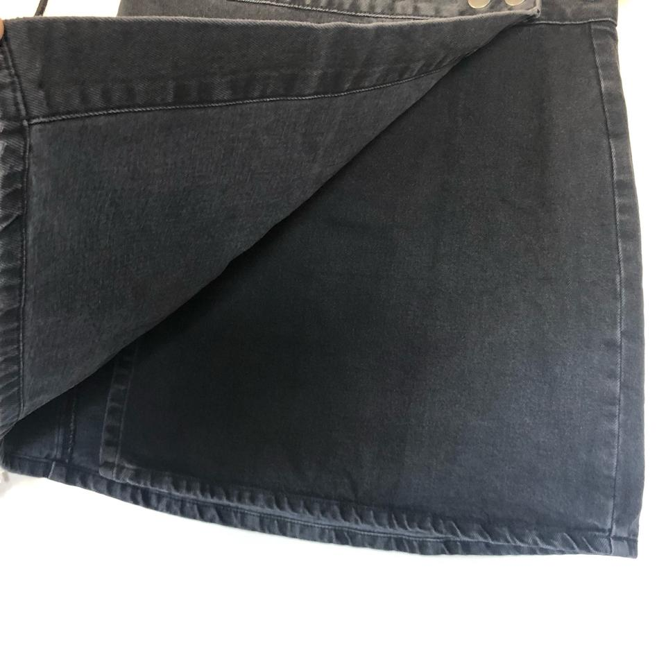 fbb6496700 Black Denim Wrap Skirt | Huston Fislar Photography