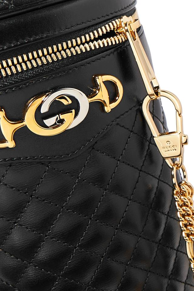 30df483b Gucci Belt L Trapuntata Quilted Leather Cross Body Bag