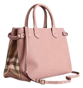 0d81459989 Pink Leather Burberry Totes - Up to 70% off at Tradesy