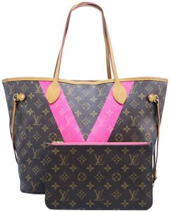 ffc63d573026 Louis Vuitton Neverfull Monogram V - Up to 70% off at Tradesy