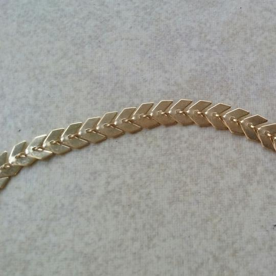 Unknown Gold Chevron Bracelet Image 3