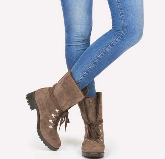 JustFab brown Boots Image 1