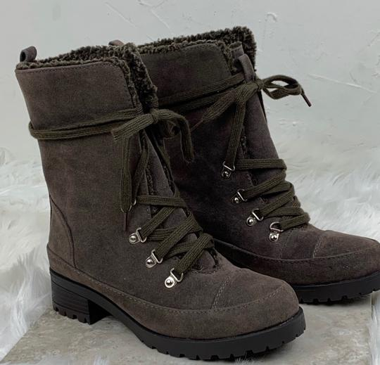 JustFab brown Boots Image 4