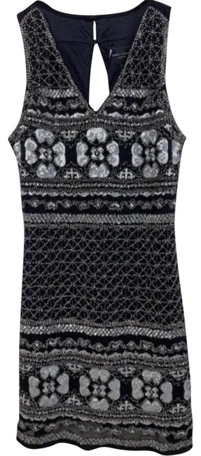 Preload https://img-static.tradesy.com/item/25192371/romeo-and-juliet-couture-black-silver-and-beaded-and-sequined-short-cocktail-dress-size-4-s-0-1-650-650.jpg