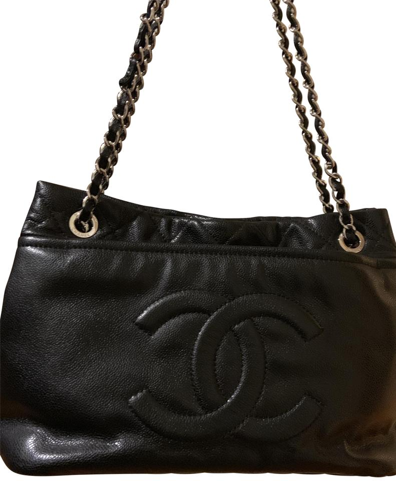 71382b01d39f8a Chanel Bag Caviar Timeless Cc Soft Black Calfskin Leather Tote - Tradesy
