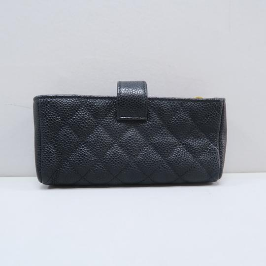 Chanel Chanel Black Quilted O-Phone Holder Image 2