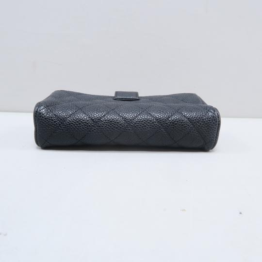 Chanel Chanel Black Quilted O-Phone Holder Image 4