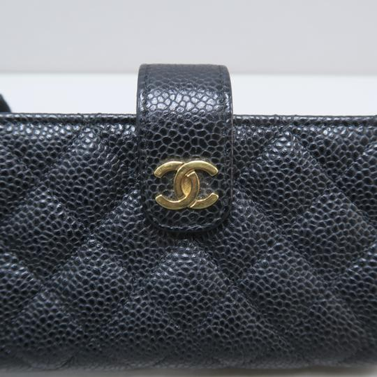Chanel Chanel Black Quilted O-Phone Holder Image 7