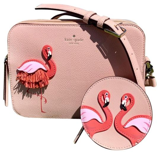 Preload https://img-static.tradesy.com/item/25192556/kate-spade-flamingo-by-the-pool-set-leather-cross-body-bag-0-1-540-540.jpg