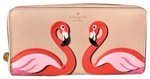 Kate Spade Kate Spade Flamingo By The Pool Large Continental Wallet