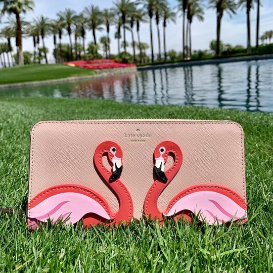 Kate Spade Kate Spade Flamingo By The Pool Large Continental Wallet Image 1