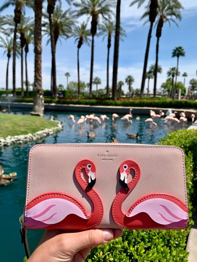 Kate Spade Kate Spade Flamingo By The Pool Large Continental Wallet Image 2