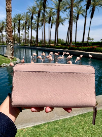 Kate Spade Kate Spade Flamingo By The Pool Large Continental Wallet Image 3
