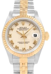 Rolex Rolex Datejust 26mm Steel Yellow Gold Ladies Watch 69173 Box Papers
