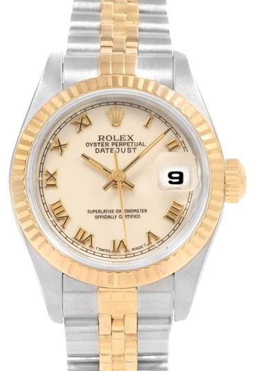 Preload https://img-static.tradesy.com/item/25192680/rolex-ivory-datejust-26mm-steel-yellow-gold-ladies-69173-box-papers-watch-0-1-540-540.jpg