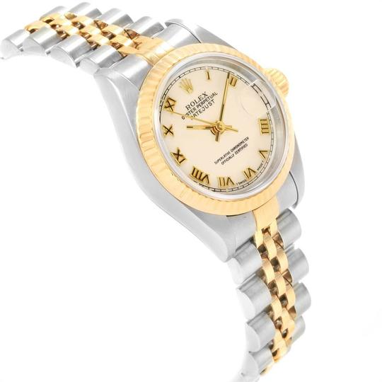 Rolex Rolex Datejust 26mm Steel Yellow Gold Ladies Watch 69173 Box Papers Image 2