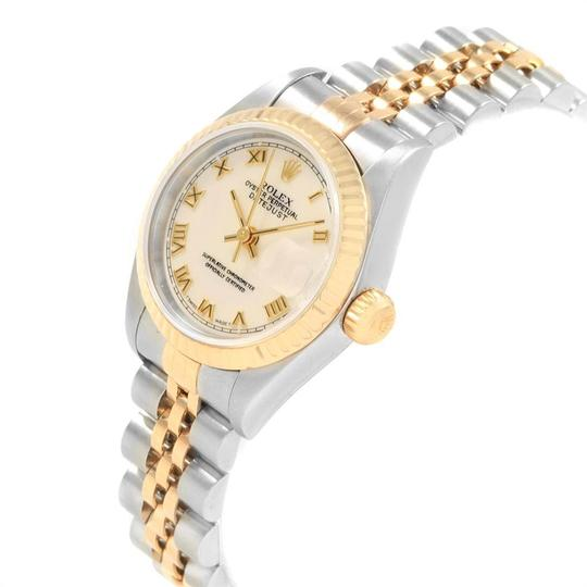 Rolex Rolex Datejust 26mm Steel Yellow Gold Ladies Watch 69173 Box Papers Image 3