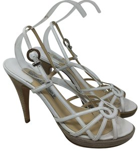 Luciano Padovan S040418-27 Heels white Pumps
