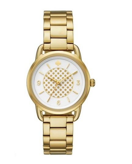 Preload https://img-static.tradesy.com/item/25192719/kate-spade-white-dotted-gold-tone-boathouse-index-and-arabic-numeral-ss-quartz-ladies-watch-0-0-540-540.jpg