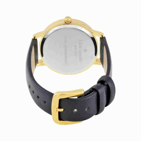 Kate Spade Crystal Gold-plated Stainless Steel Leather Quartz Round Ladies Watch Image 2