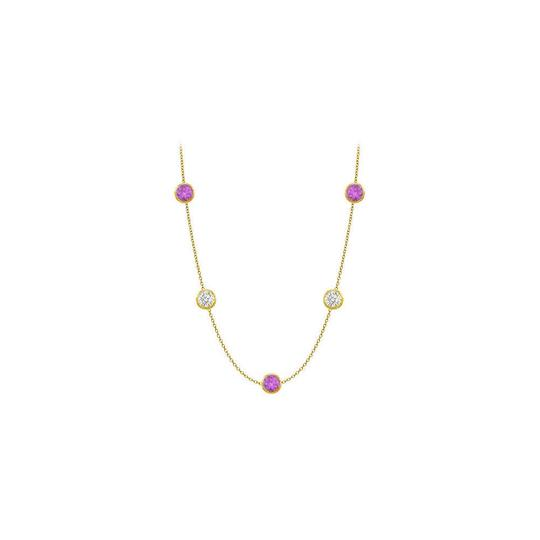 Preload https://img-static.tradesy.com/item/25192815/purple-color-amethyst-14k-yellow-gold-25-carat-with-36-inch-long-necklace-0-0-540-540.jpg