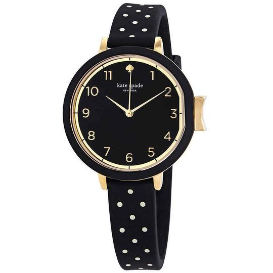 Preload https://img-static.tradesy.com/item/25192870/kate-spade-black-park-row-arabic-numeral-gold-stainless-steel-quartz-ladies-watch-0-0-540-540.jpg