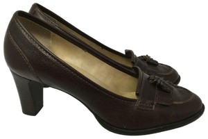 Talbots S040218-19 Leather brown Pumps