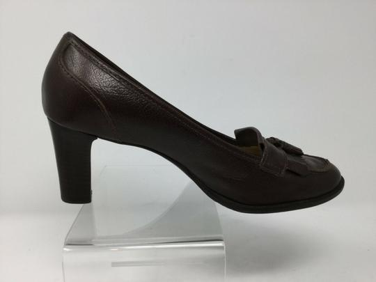 Talbots S040218-19 Leather brown Pumps Image 1