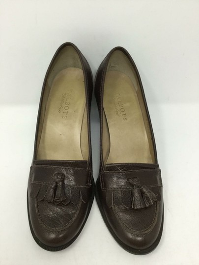 Talbots S040218-19 Leather brown Pumps Image 2