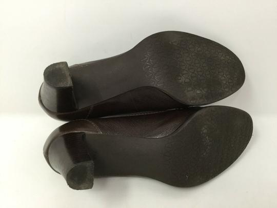 Talbots S040218-19 Leather brown Pumps Image 3