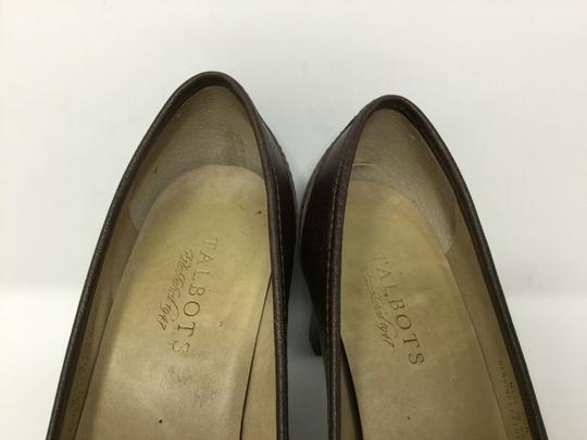 Talbots S040218-19 Leather brown Pumps Image 8