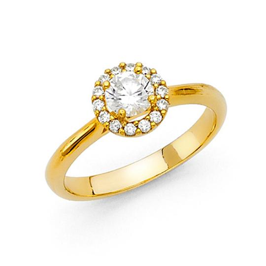Preload https://img-static.tradesy.com/item/25192882/yellow-cathedral-round-halo-cz-wedding-in-14k-ring-0-0-540-540.jpg