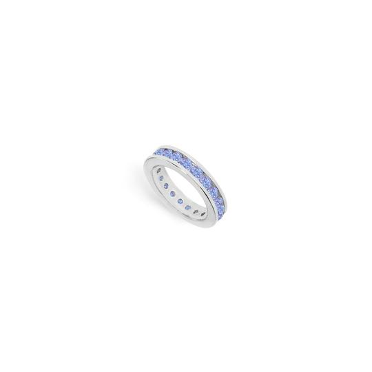 Preload https://img-static.tradesy.com/item/25192884/blue-created-tanzanite-channel-set-eternity-band-14k-white-gold-200-ct-tgw-ring-0-0-540-540.jpg