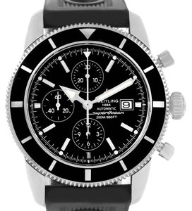 Breitling Breitling SuperOcean Heritage Chrono 46 Black Dial Mens Watch A13320
