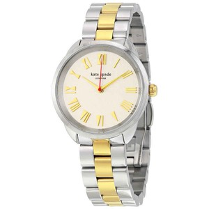 Kate Spade Crosstown Roman Numeral Gold Stainless Steel Quartz Ladies Watch