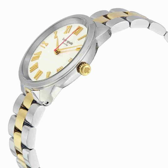 Kate Spade Crosstown Roman Numeral Gold Stainless Steel Quartz Ladies Watch Image 1