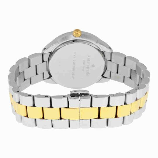 Kate Spade Crosstown Roman Numeral Gold Stainless Steel Quartz Ladies Watch Image 2