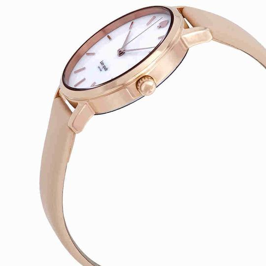 Kate Spade Metro Index Marker Gold S.Steel Leather Quartz Round Ladies Watch Image 1