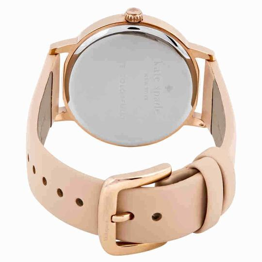 Kate Spade Metro Index Marker Gold S.Steel Leather Quartz Round Ladies Watch Image 2
