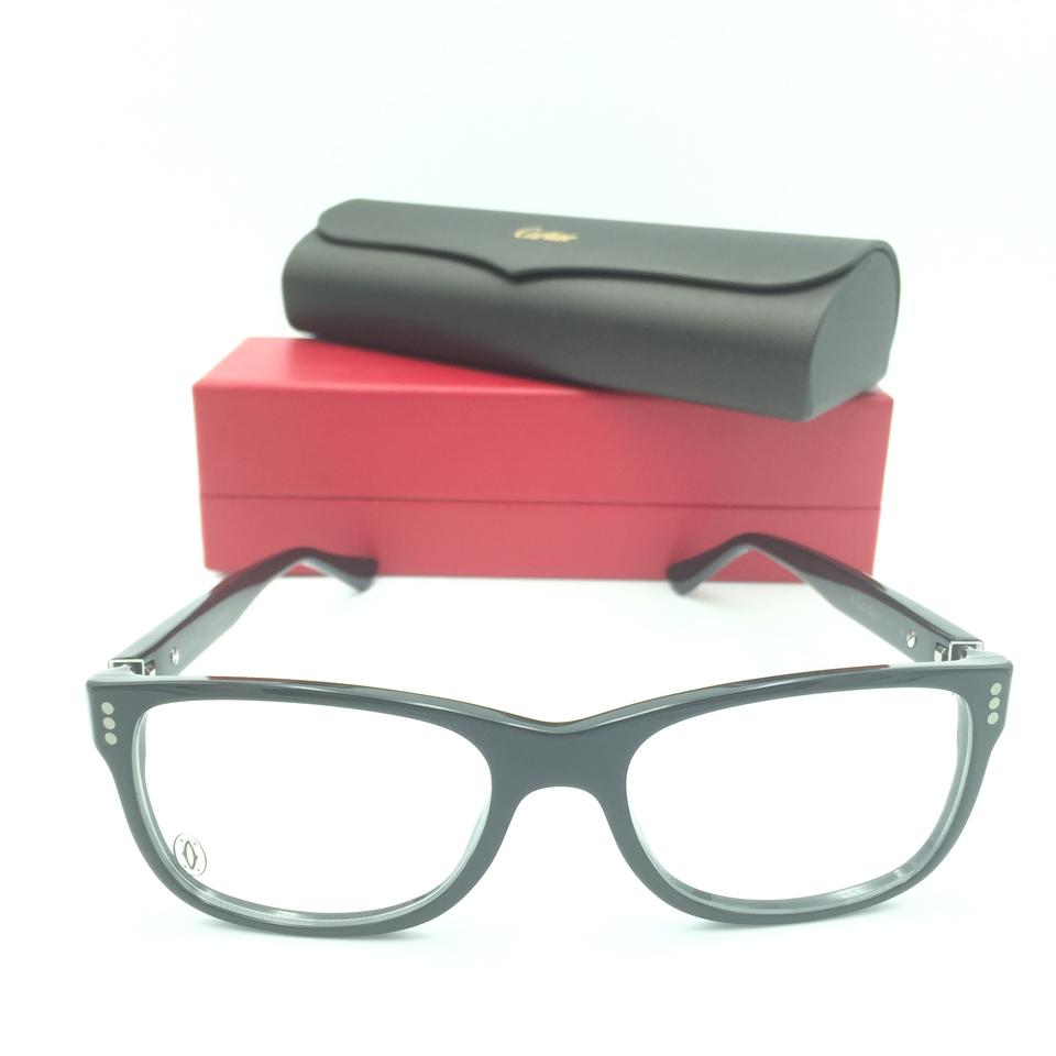 0a7e03fe4fc Cartier Cartier Cat Eye Black Eyeglasses Rx Image 0 ...