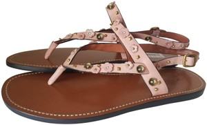 Coach soft pink/ nude Sandals