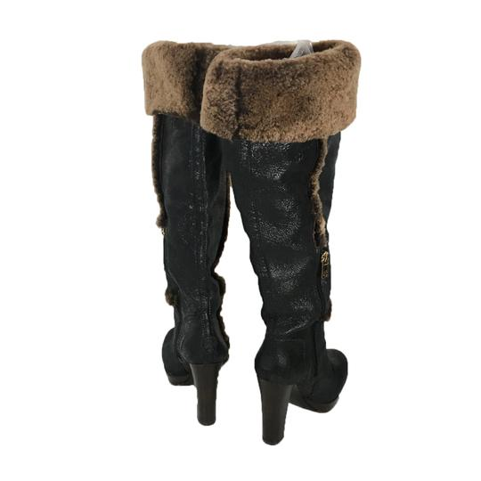 Tory Burch Black/Brown Boots Image 1