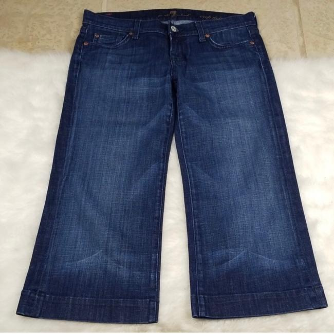 7 For All Mankind Capri/Cropped Denim Image 1