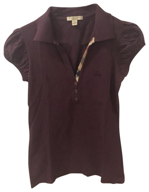 Preload https://img-static.tradesy.com/item/25193123/burberry-brit-eggplant-classic-polo-tee-shirt-size-6-s-0-1-650-650.jpg