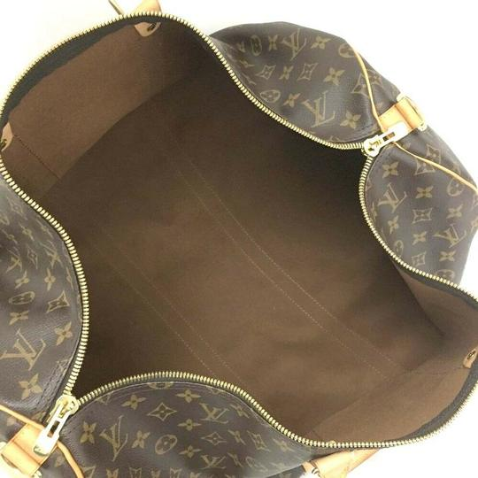Louis Vuitton Brown Travel Bag Image 9
