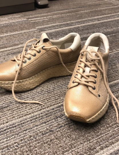 OTBT Espadrille Metallic New Gold Athletic Image 1