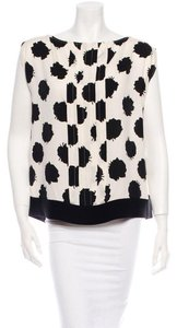 Diane von Furstenberg Top Black, White