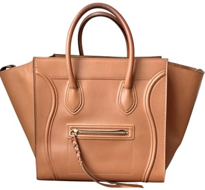 Céline Phantom Phantom Tote in Brown Tan Natural