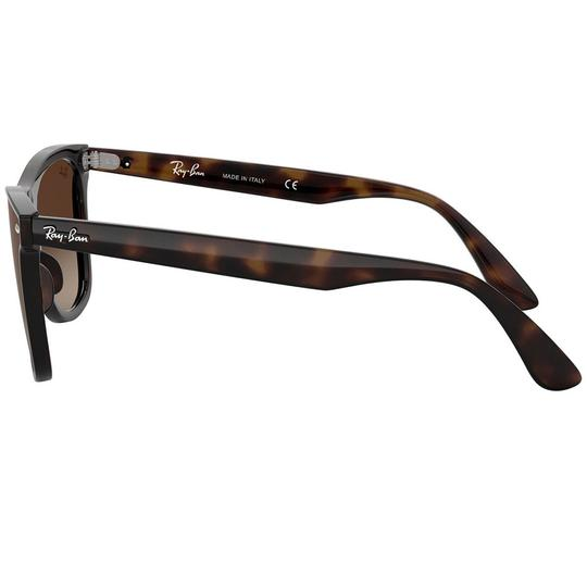 Ray-Ban Frame & Brown Gradient Lens Unisex Square Image 3
