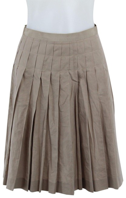 Preload https://img-static.tradesy.com/item/25193335/lanvin-tan-pleated-circle-408-skirt-size-8-m-29-30-0-1-650-650.jpg